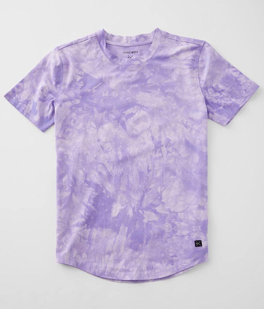 Boys - Departwest Tie Dye T-Shirt front view