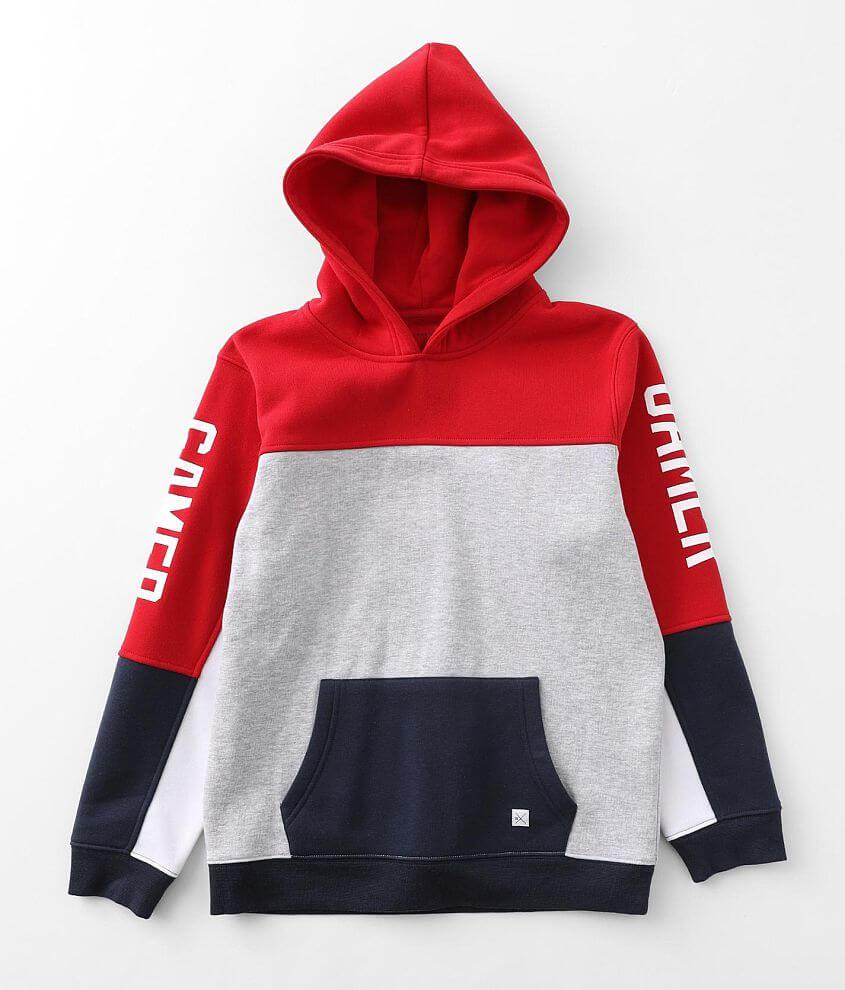 Boys - Departwest Gamer Hooded Sweatshirt front view