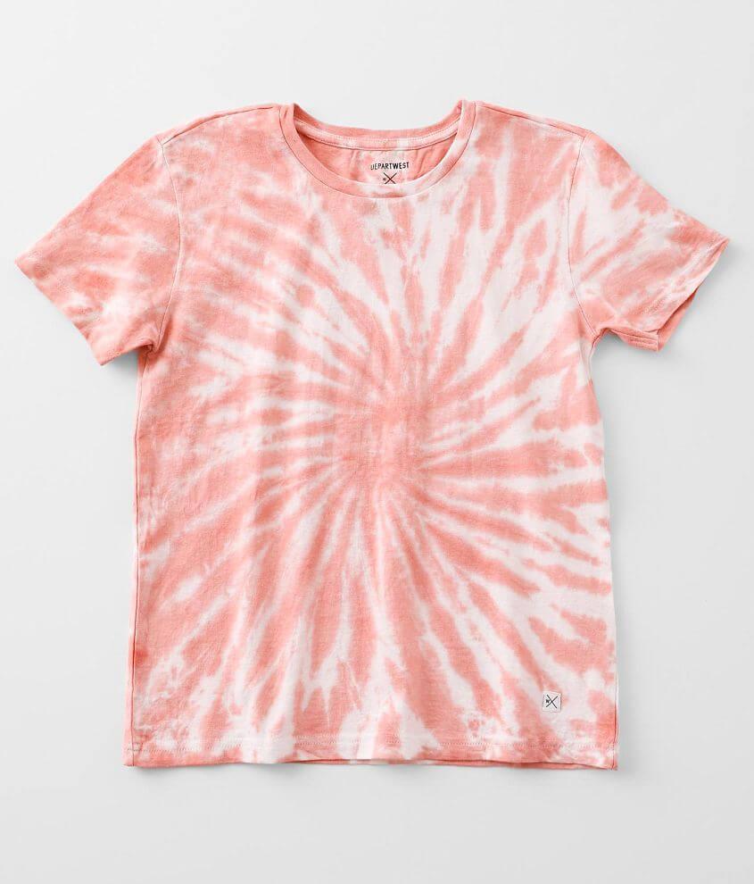 Boys - Departwest Tie-Dye T-Shirt front view