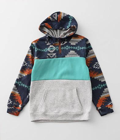 Boys - Departwest Cozy Aztec Hooded Sweatshirt