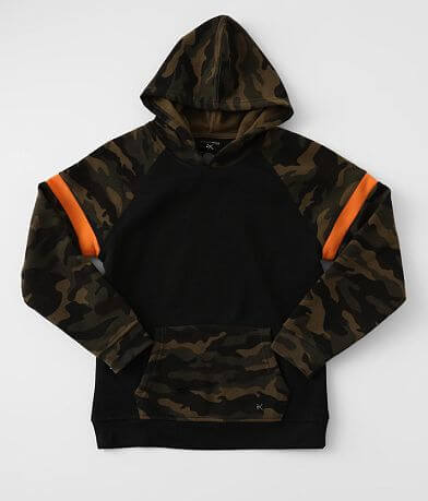 Boys - Departwest Camo Hooded Sweatshirt
