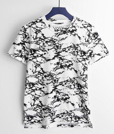Boys - Nova Industries Marble Print T-Shirt