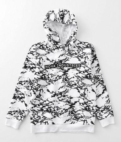 Boys - Nova Industries Marble Hooded Sweatshirt