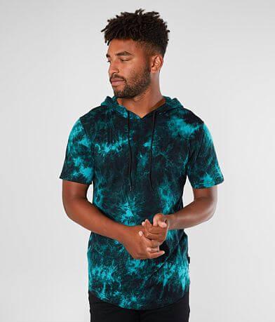 Nova Industries Tie Dye Hooded T-Shirt