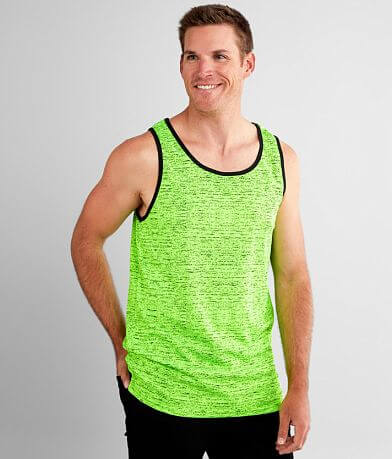 Nova Industries Marled Neon Tank Top