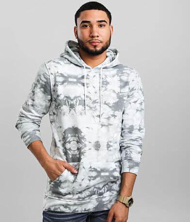 Nova Industries Tie Dye Hooded Sweatshirt