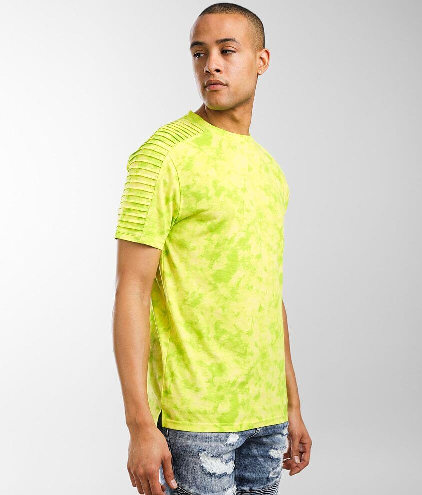 Nova Industries Tie-Dye Moto T-Shirt front view