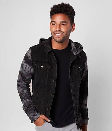 Nova Industries Hooded Denim Jacket