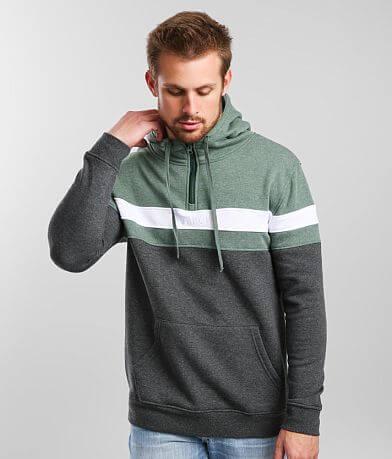 Veece Quarter Zip Hooded Sweatshirt