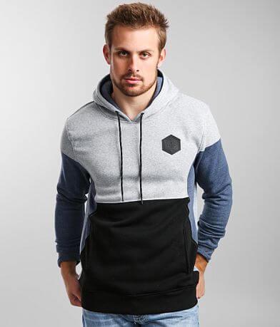 Veece Color Block Hooded Sweatshirt