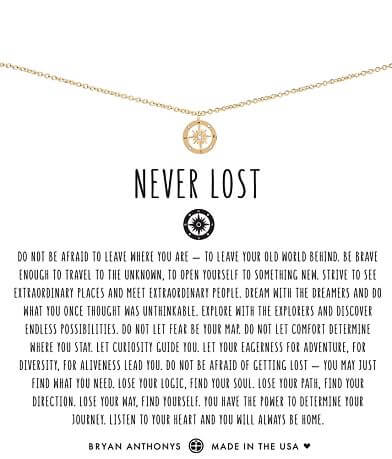 Bryan Anthonys Never Lost Necklace