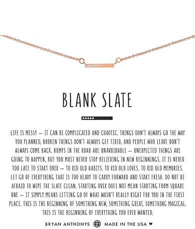 Bryan Anthonys Blank Slate Necklace