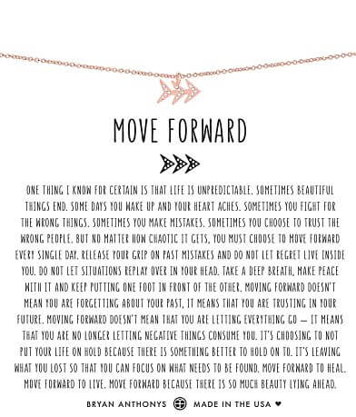Bryan Anthonys Move Forward Necklace