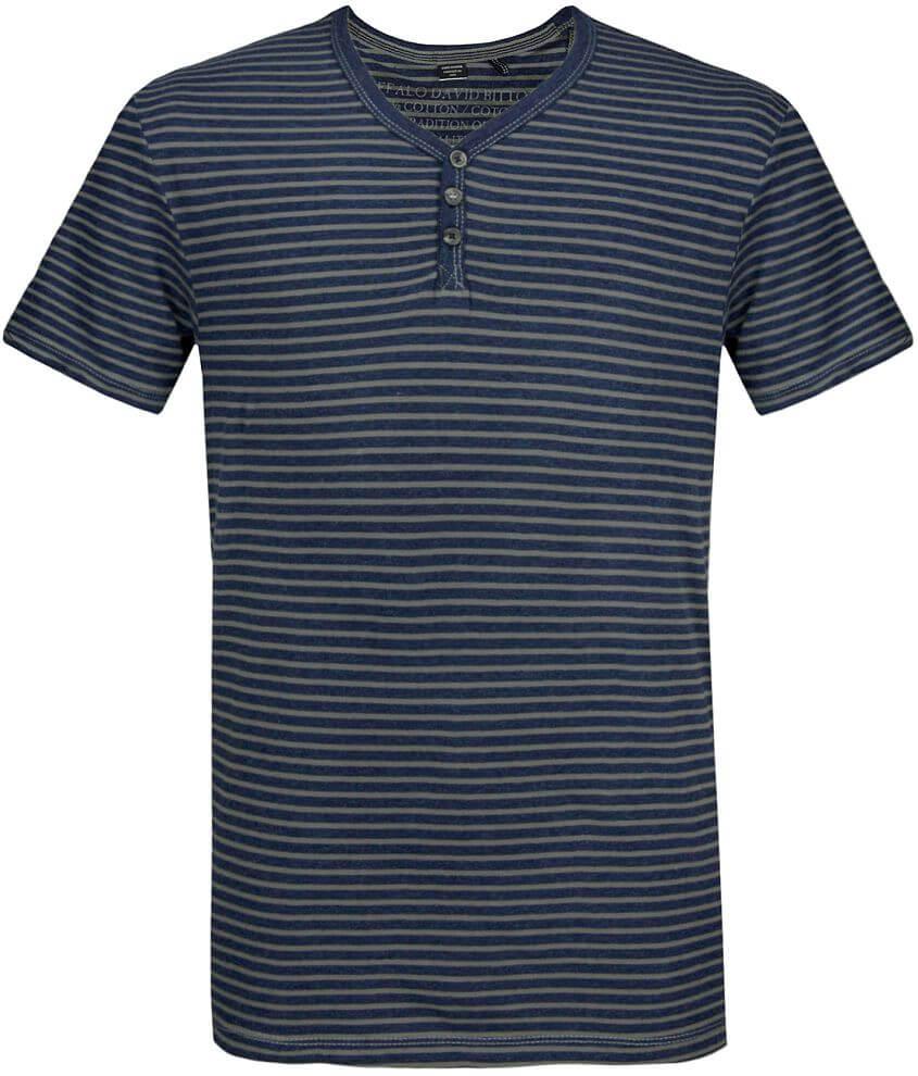Buffalo Nuris Henley T-Shirt front view