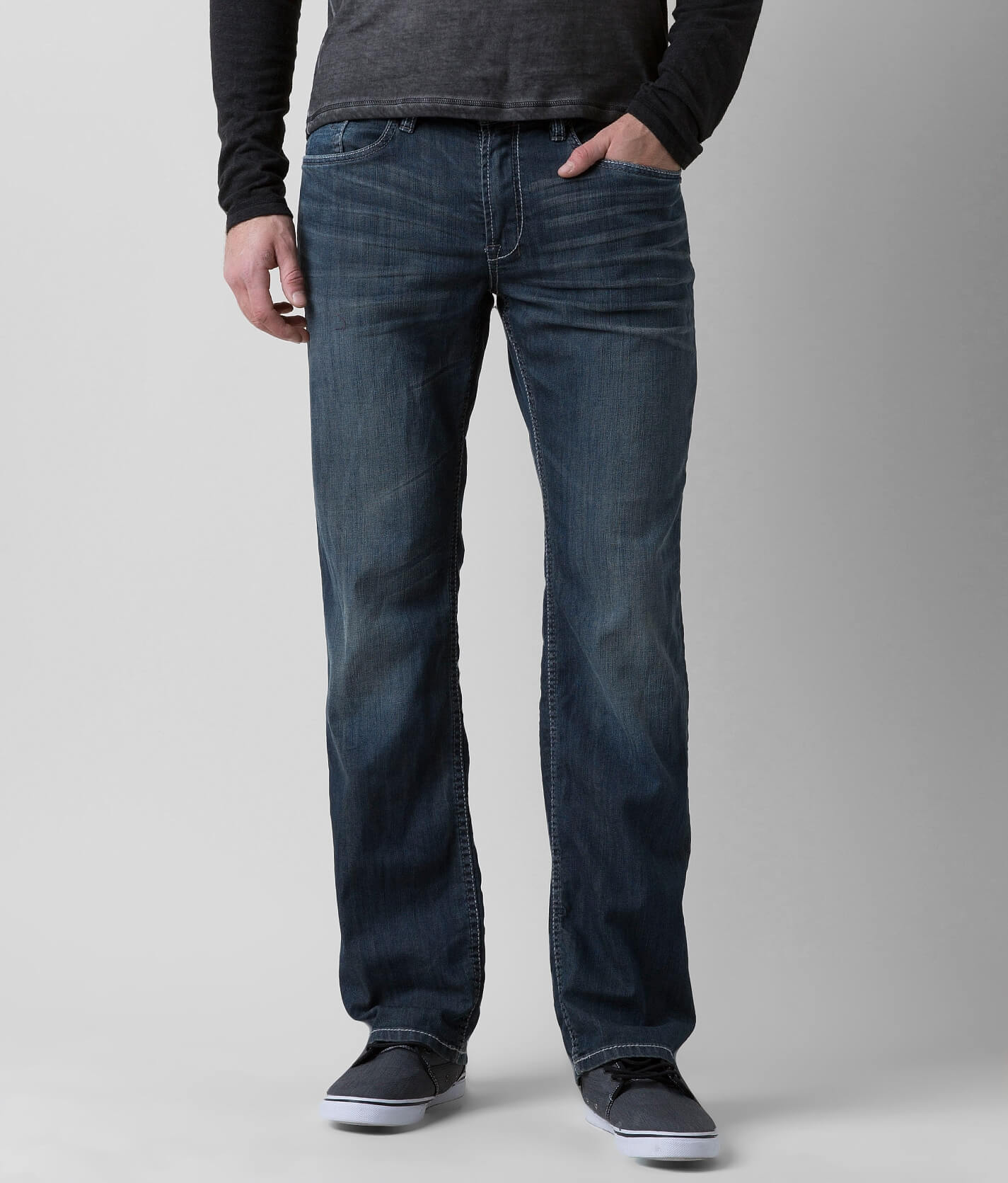 Buffalo Lucas Straight Stretch Jean