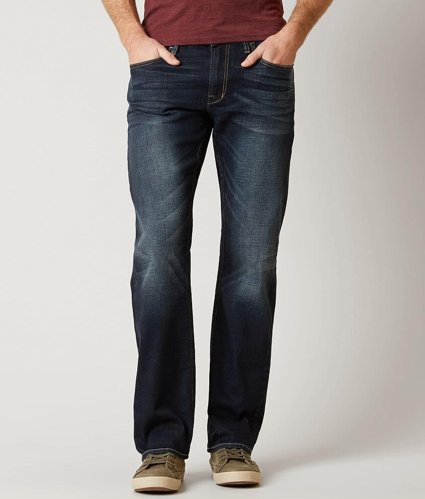Buffalo Driven Straight Stretch Jean front view