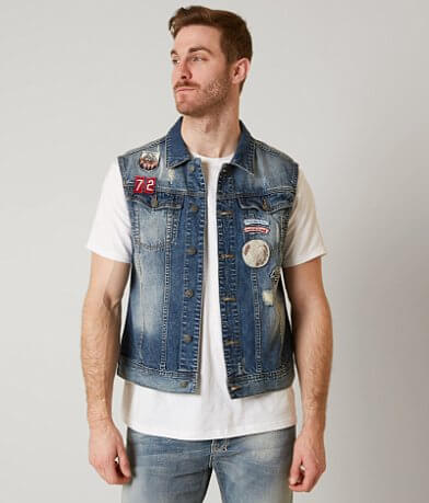 Buffalo Joey Denim Vest