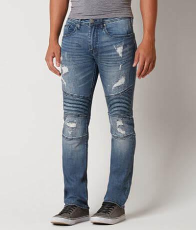 Buffalo Max Skinny Moto Stretch Jean