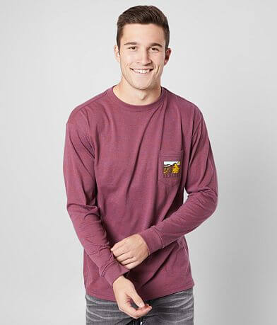 BURLEBO Hidden Fish Pocket T-Shirt