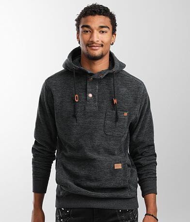 Billabong Rasta Hooded Henley Sweatshirt