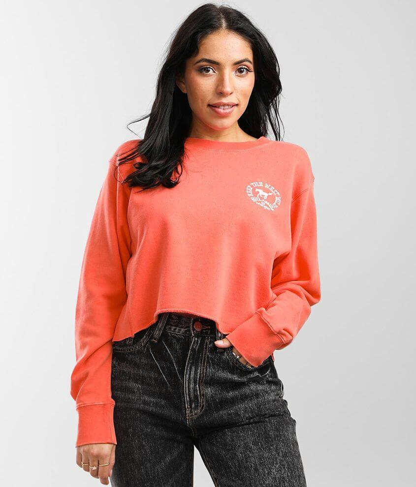 Billabong Past Time Pullover Sweatshirt front view