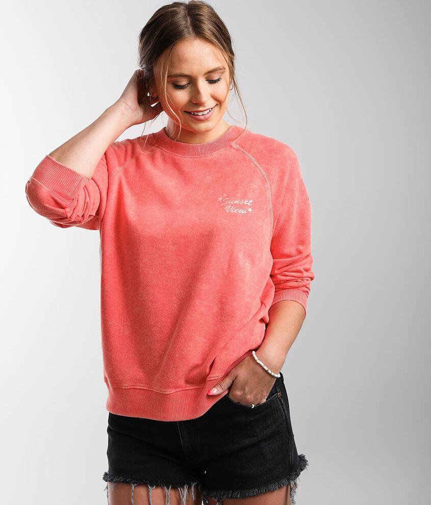 Billabong Salt & Sand Pullover Sweatshirt front view