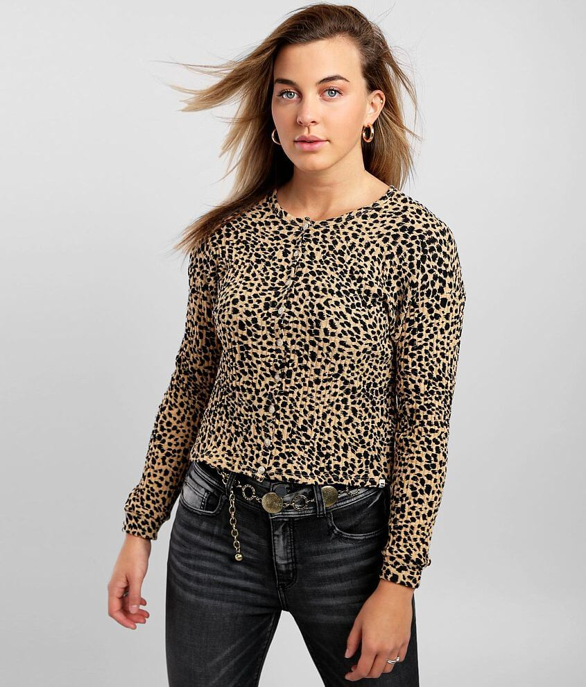 Billabong In The Canyon Cardigan front view