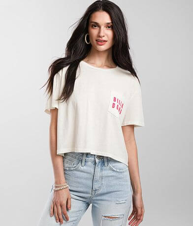 Billabong Gone Coastal Cropped T-Shirt