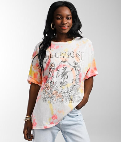 Billabong Morning Sea Oversized T-Shirt