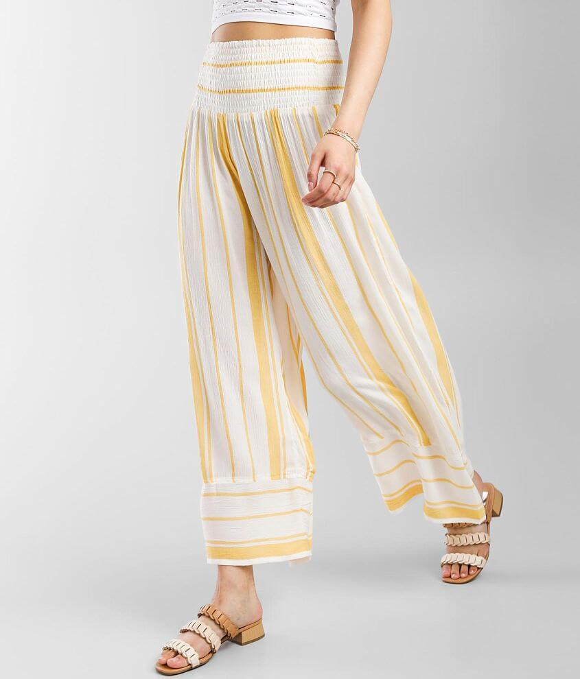 Billabong All Lined Up Wide Leg Pant front view