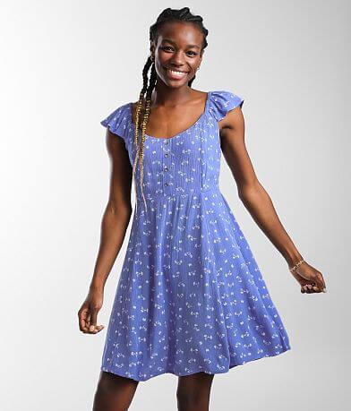 Billabong Forever Yours Mini Dress