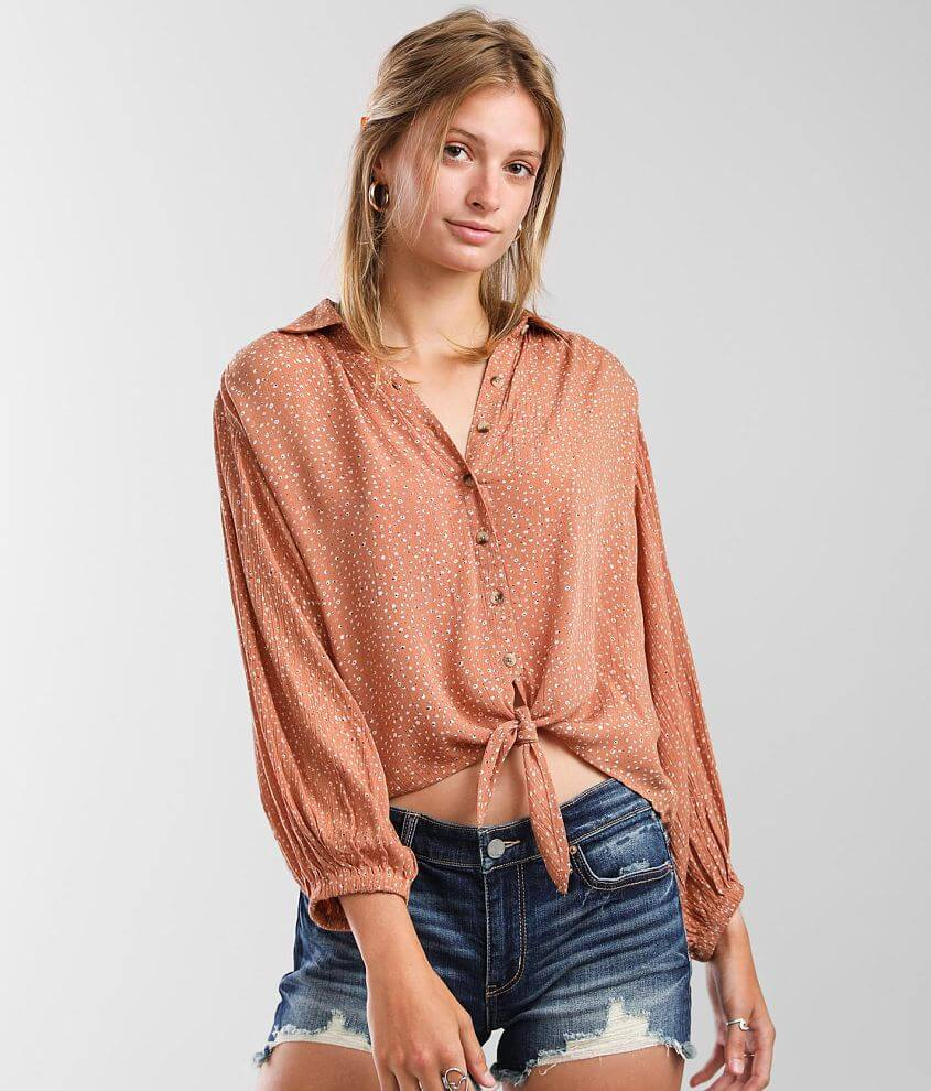 Billabong Easy Beat Blouse front view