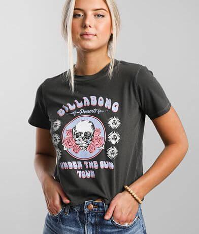 Billabong Under The Sun Cropped T-Shirt
