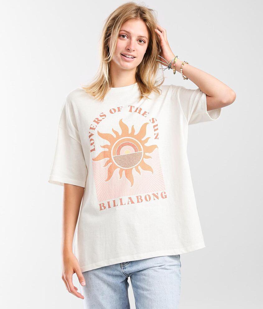 Billabong Shine Bright Oversized T-Shirt front view