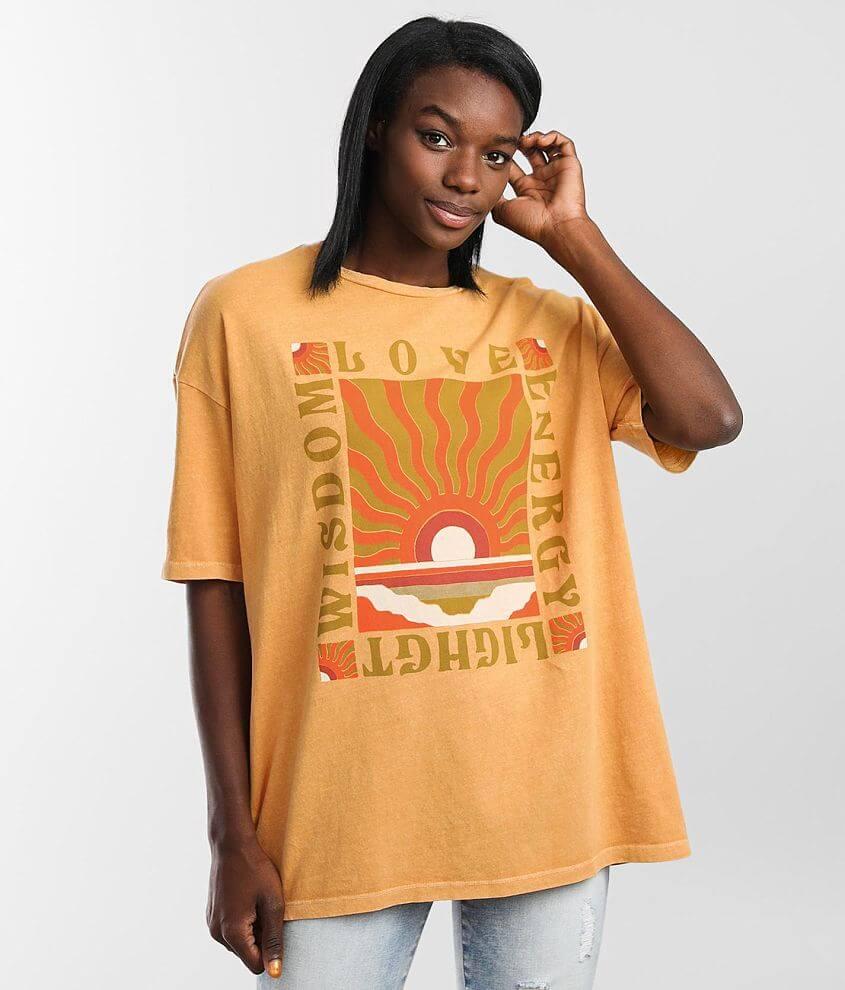 Billabong Love and Light T-Shirt front view