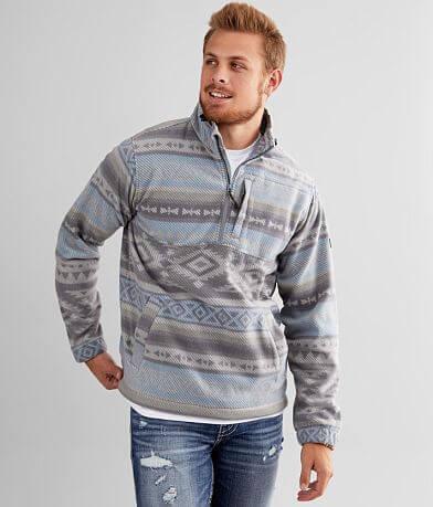 Billabong Boundary Mock Neck Fleece Pullover