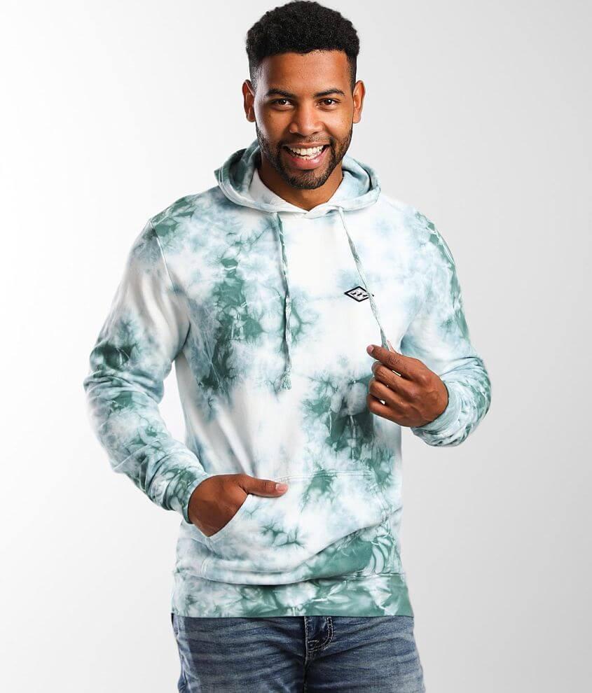 Billabong Diamond Wash Hooded Sweatshirt front view