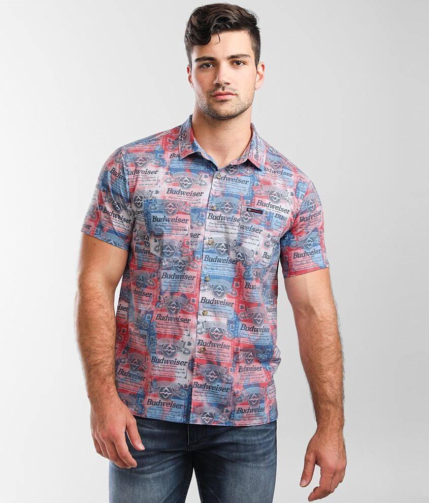 Billabong Bud Insignia Stretch Shirt front view