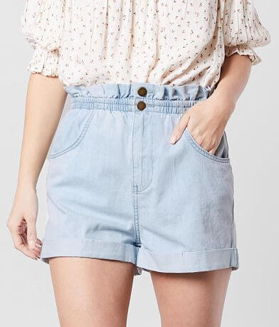 Billabong Sun Dialed Denim Paperbag Short