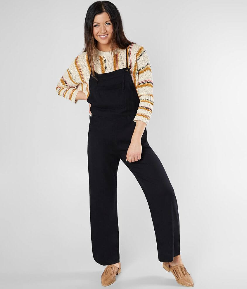 94540cad9fb Billabong Wild Lengths Overalls - Women s Rompers Jumpsuits in Black ...