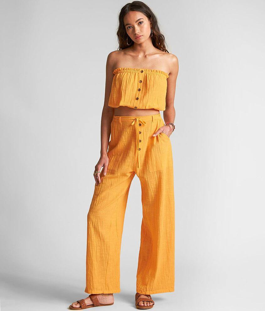 Billabong Sincerely Jules Bring On Wide Leg Pant front view