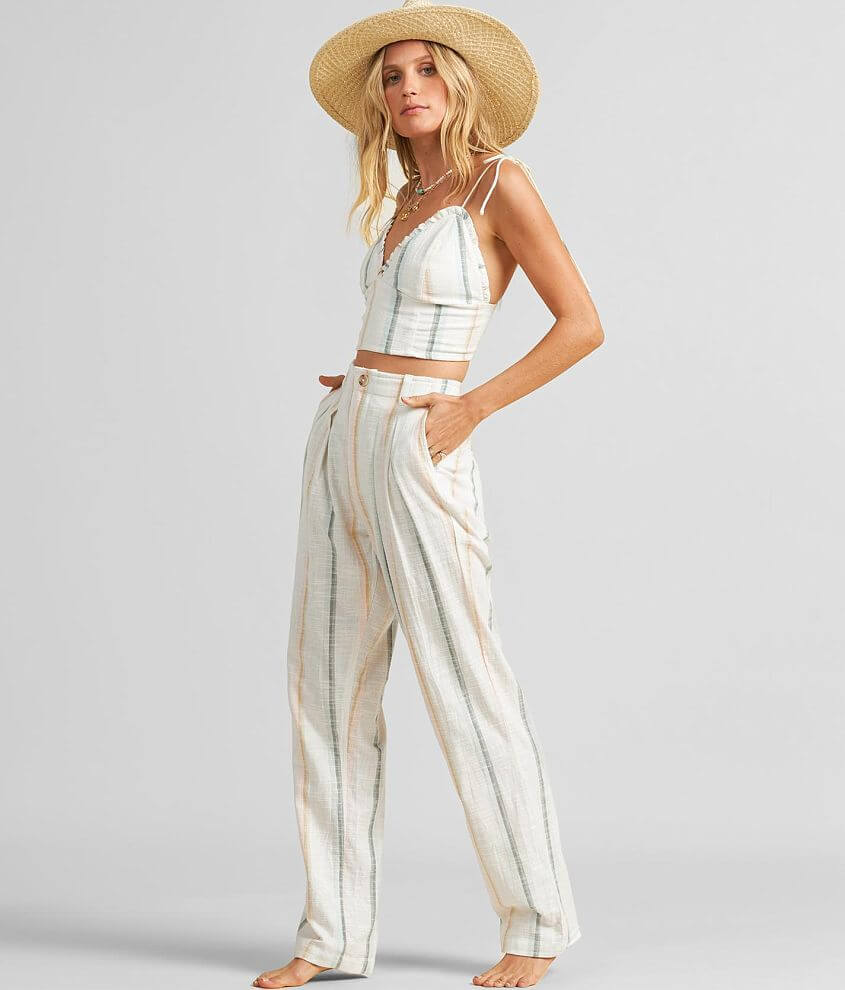 Billabong New Moves Striped Pant front view