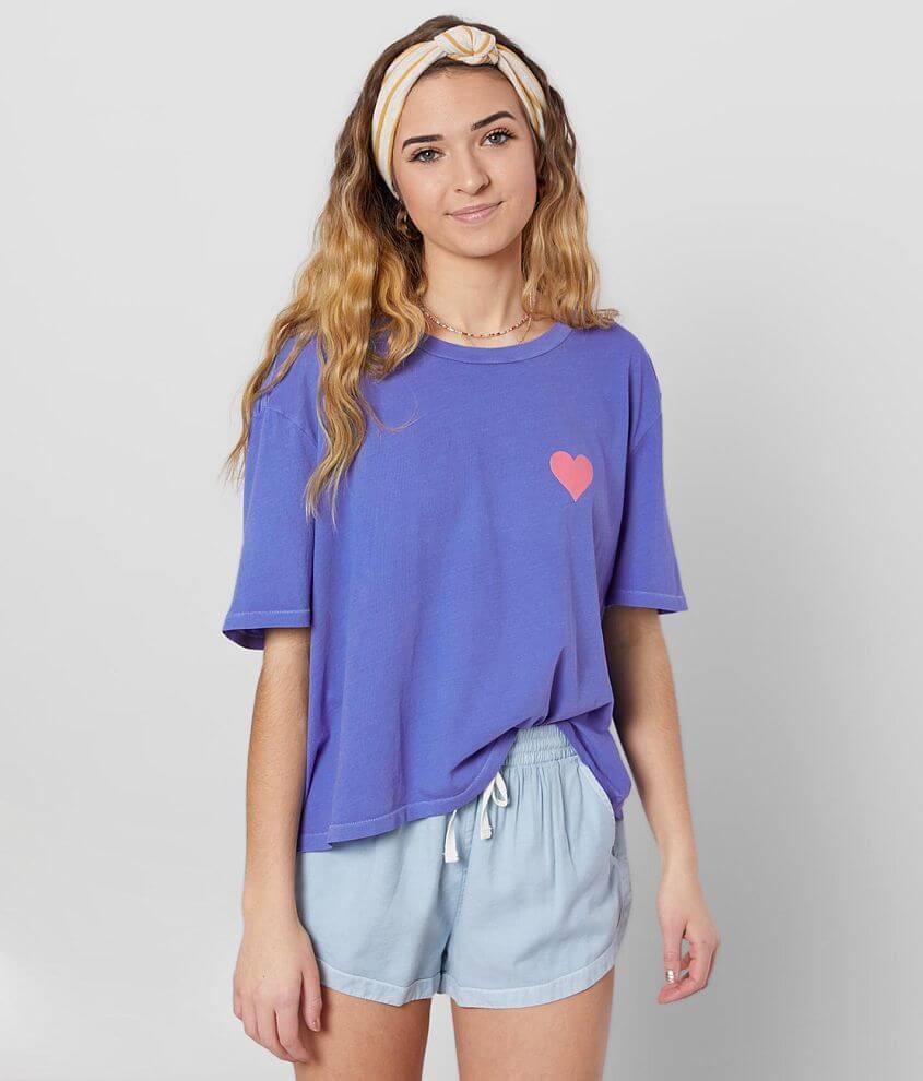 Billabong Babe Cropped T-Shirt front view