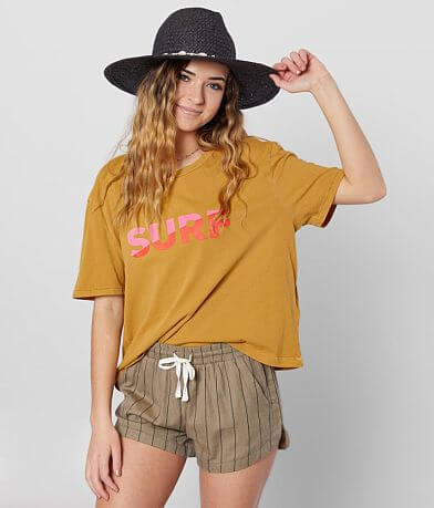 Billabong Surf Slice Cropped T-Shirt