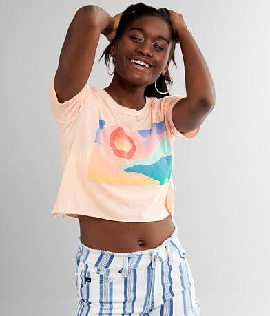 Billabong Artist View Cropped T-Shirt