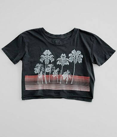Billabong Beach Palms Cropped T-Shirt