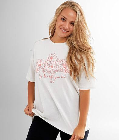 Billabong Free Time Oversized T-Shirt