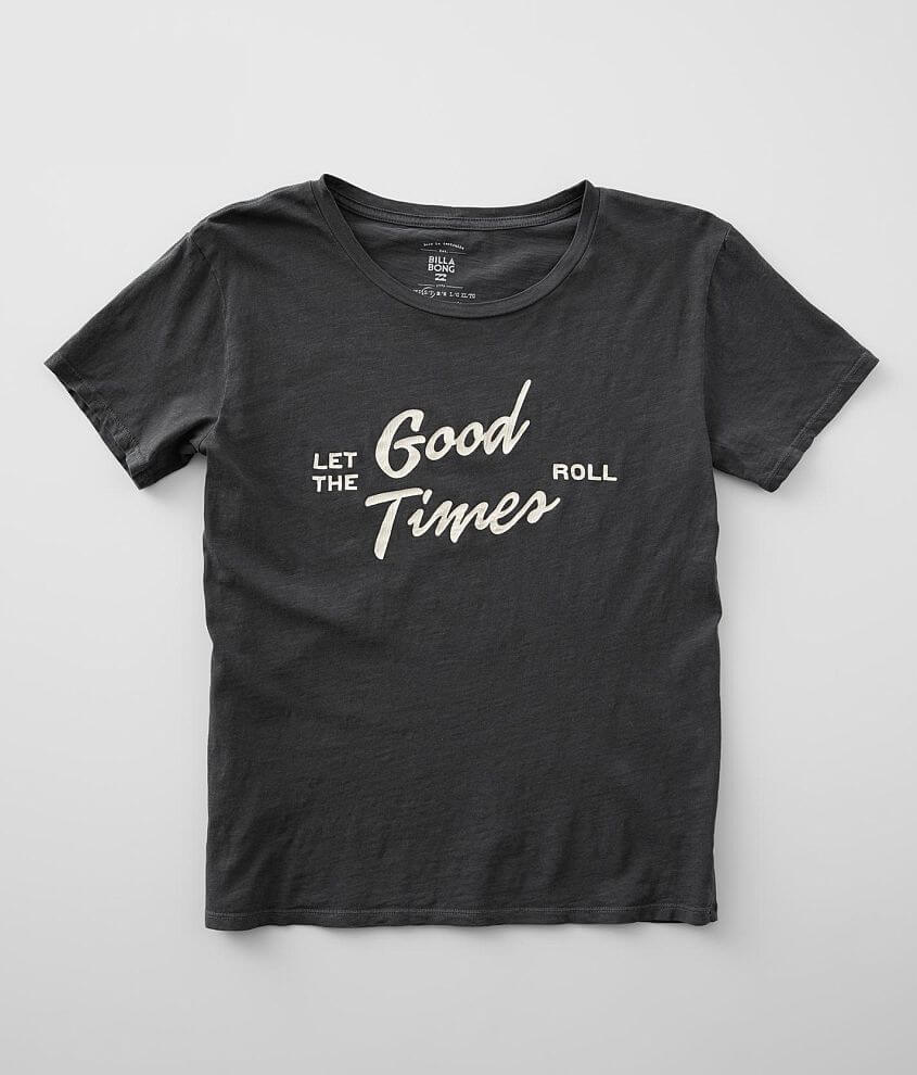 Billabong Let The Good Times Roll T-Shirt front view