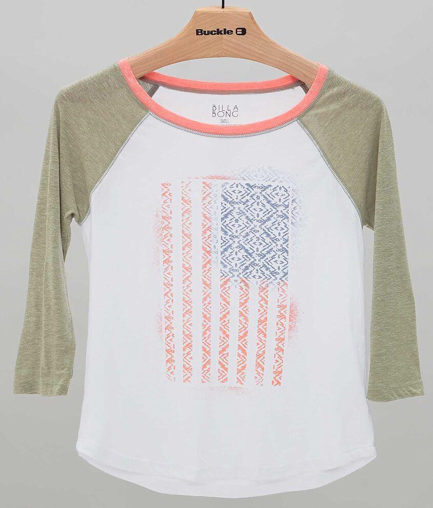 Billabong Ikat Flag T-Shirt front view