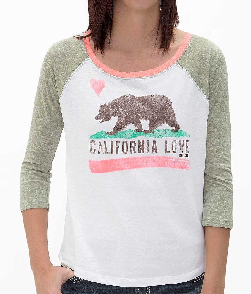 Billabong Bear Hugs T-Shirt front view
